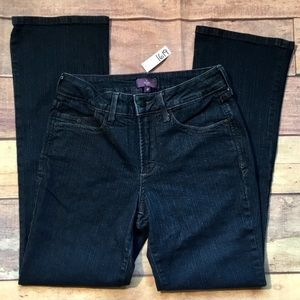 NOT YOUR DAUGHTERS JEANS NYDJ HIGH RISE JEANS 4P